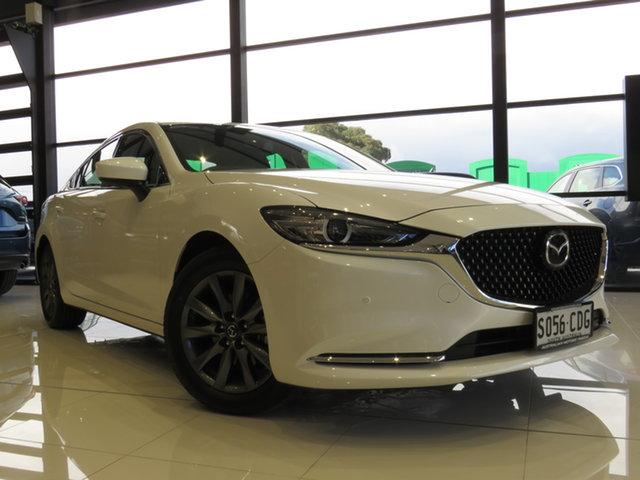 Demo Mazda 6 GL1033 Touring SKYACTIV-Drive, 2019 Mazda 6 GL1033 Touring SKYACTIV-Drive Snowflake White 6 Speed Sports Automatic Sedan