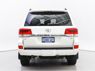 2017 Toyota Landcruiser VDJ200R MY16 VX (4x4) White 6 Speed Automatic Wagon
