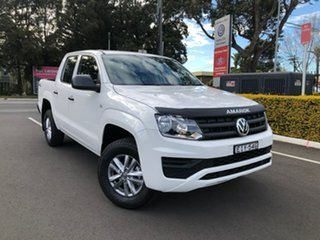 2020 Volkswagen Amarok 2H MY20 TDI420 4MOTION Perm Core White 8 Speed Automatic Utility.