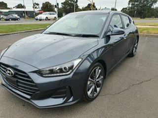 2019 Hyundai Veloster JS MY20 Coupe Grey 6 Speed Manual Hatchback