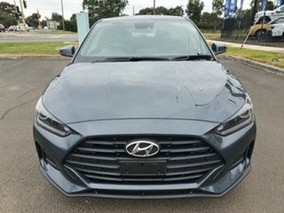 2019 Hyundai Veloster JS MY20 Coupe Grey 6 Speed Manual Hatchback.