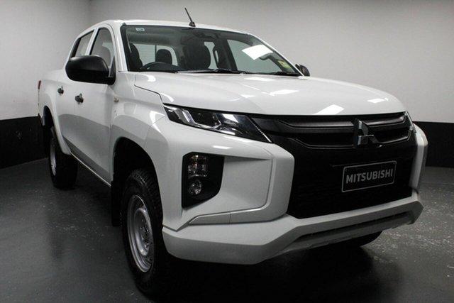 Used Mitsubishi Triton MR MY20 GLX Double Cab ADAS, 2019 Mitsubishi Triton MR MY20 GLX Double Cab ADAS White 6 Speed Manual Utility