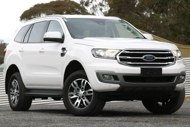 Used Ford Everest UA II 2019.00MY Trend, 2019 Ford Everest UA II 2019.00MY Trend White 10 Speed Sports Automatic Wagon