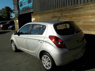 2012 Hyundai i20 PB MY12 Active Silver 5 Speed Manual Hatchback