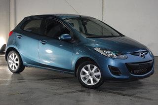 2014 Mazda 2 DE10Y2 MY14 Neo Sport Blue 5 Speed Manual Hatchback.
