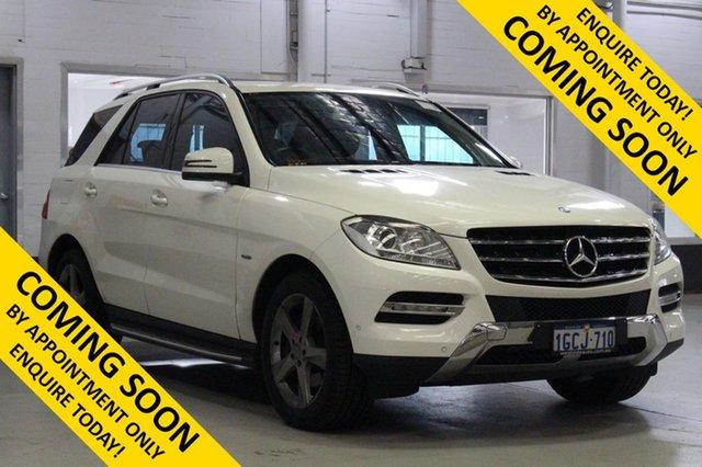 Used Mercedes-Benz ML250 CDI BlueTEC 166 4x4, 2012 Mercedes-Benz ML250 CDI BlueTEC 166 4x4 White 7 Speed Automatic Wagon