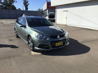 2014 Holden Commodore VF MY14 SV6 Sportwagon Grey 6 Speed Sports Automatic Wagon.