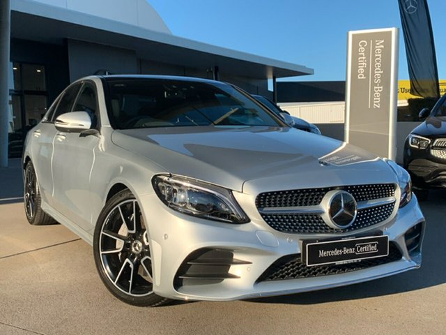 Used Mercedes-Benz C-Class W205 809MY C300 9G-Tronic, 2019 Mercedes-Benz C-Class W205 809MY C300 9G-Tronic Silver 9 Speed Sports Automatic Sedan