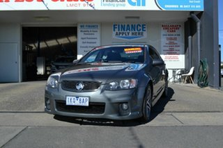2012 Holden Commodore VE II MY12 SV6 Grey 6 Speed Manual Sedan