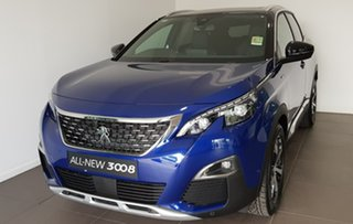 2020 Peugeot 3008 P84 MY20 GT Line SUV Blue 6 Speed Sports Automatic Hatchback.
