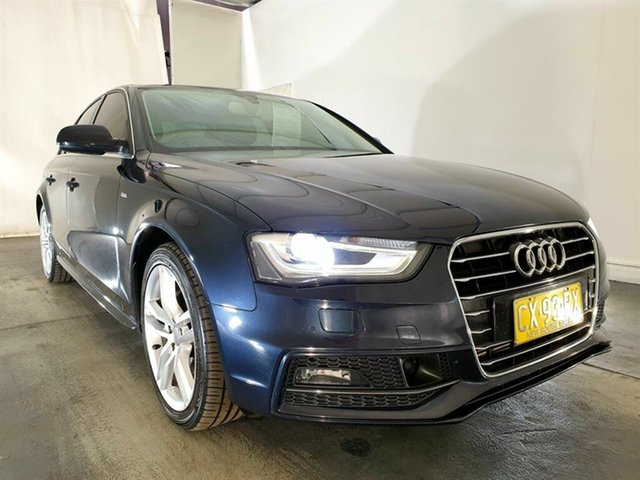 Used Audi A4 B8 8K MY15 S Line Avant Multitronic Plus, 2015 Audi A4 B8 8K MY15 S Line Avant Multitronic Plus Blue 8 Speed Constant Variable Wagon