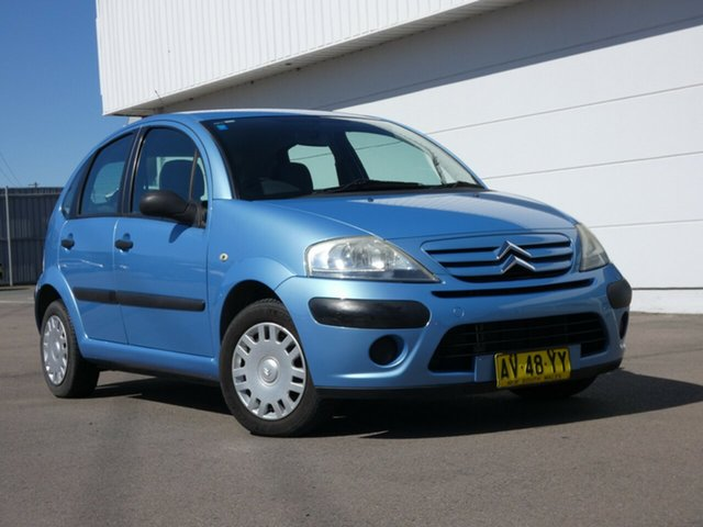Used Citroen C3 MY06 SX, 2006 Citroen C3 MY06 SX Blue 5 Speed Manual Hatchback