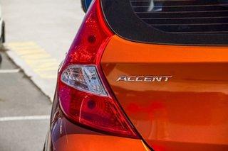 2016 Hyundai Accent RB3 MY16 Active Orange 6 Speed Manual Hatchback
