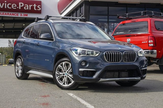 Used BMW X1 F48 xDrive20d Steptronic AWD, 2016 BMW X1 F48 xDrive20d Steptronic AWD Grey 8 Speed Sports Automatic Wagon