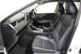 2019 Toyota RAV4 Axah52R Cruiser 2WD Hybrid White Continuous Variable Wagon