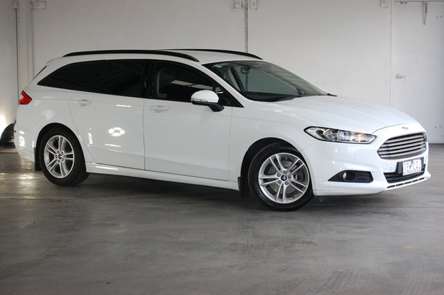 Used Ford Mondeo MD Ambiente, 2015 Ford Mondeo MD Ambiente White 6 Speed Automatic Wagon