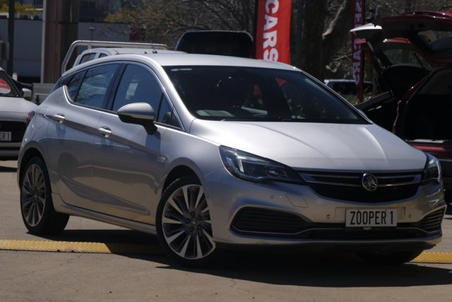 Used Holden Astra BK MY18.5 RS-V Windsor, 2018 Holden Astra BK MY18.5 RS-V Silver 6 Speed Sports Automatic Hatchback