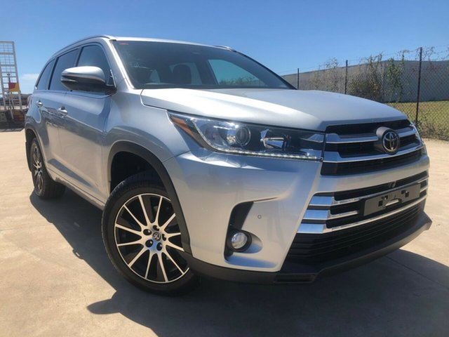 Used Toyota Kluger GSU55R Grande AWD Townsville, 2018 Toyota Kluger GSU55R Grande AWD Silver 8 Speed Sports Automatic Wagon