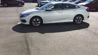 2017 Honda Civic 10th Gen MY16 VTi White 1 Speed Constant Variable Sedan
