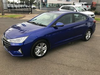 2019 Hyundai Elantra AD.2 MY19 Active Blue 6 Speed Sports Automatic Sedan