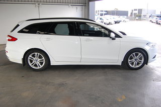 2015 Ford Mondeo MD Ambiente White 6 Speed Automatic Wagon