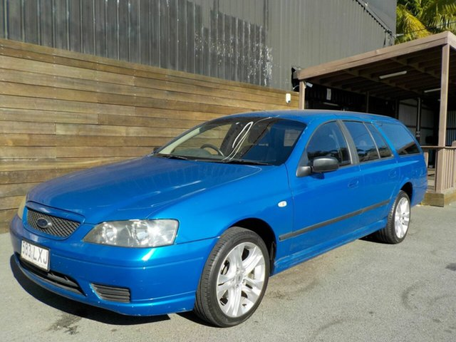 Used Ford Falcon BF XT, 2006 Ford Falcon BF XT Blue 4 Speed Sports Automatic Wagon