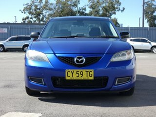 2006 Mazda 3 BK10F2 Neo Blue 5 Speed Manual Sedan.
