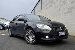 2010 Suzuki Kizashi FR XLS Black 6 Speed Constant Variable Sedan