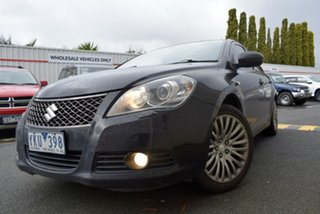 2010 Suzuki Kizashi FR XLS Black 6 Speed Constant Variable Sedan.