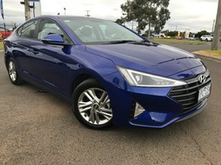 2019 Hyundai Elantra AD.2 MY19 Active Blue 6 Speed Sports Automatic Sedan.