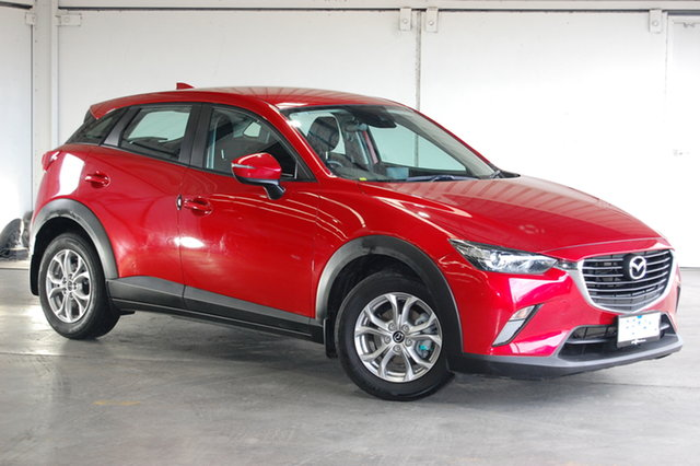 Used Mazda CX-3 DK2W7A Maxx SKYACTIV-Drive, 2018 Mazda CX-3 DK2W7A Maxx SKYACTIV-Drive Red 6 Speed Sports Automatic Wagon