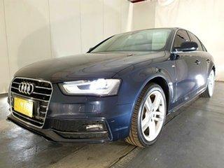 2015 Audi A4 B8 8K MY15 S Line Avant Multitronic Plus Blue 8 Speed Constant Variable Wagon.