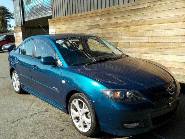 Used Mazda 3 BK1032 SP23, 2006 Mazda 3 BK1032 SP23 Blue 6 Speed Manual Sedan