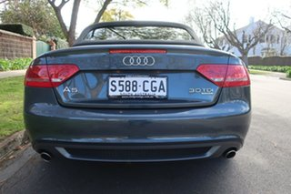 2012 Audi A5 8T MY12 3.0 TDI Quattro Grey 7 Speed Auto Direct Shift Cabriolet