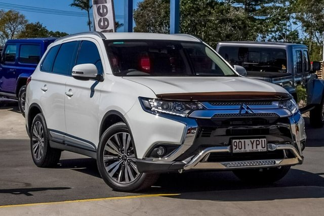 Used Mitsubishi Outlander ZL MY19 ES 2WD, 2018 Mitsubishi Outlander ZL MY19 ES 2WD White 6 Speed Constant Variable Wagon