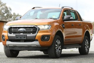 2018 Ford Ranger PX MkIII 2019.00MY Wildtrak Orange 6 Speed Manual Utility