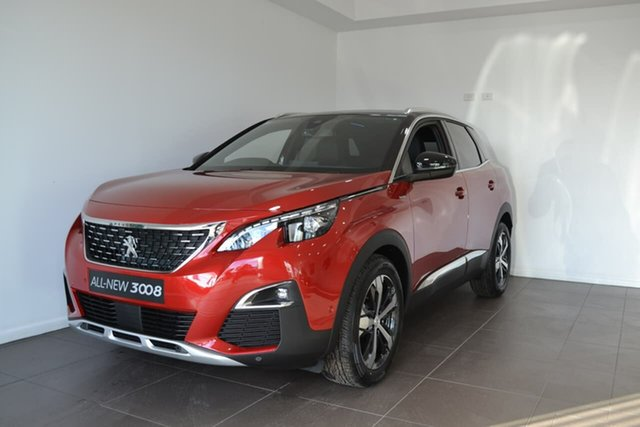 Demo Peugeot 3008 P84 MY20 GT Line SUV Gateshead, 2020 Peugeot 3008 P84 MY20 GT Line SUV Red 6 Speed Sports Automatic Hatchback