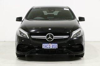 2016 Mercedes-Benz A45 176 MY15 AMG Black 7 Speed Auto Dual Clutch Hatchback.
