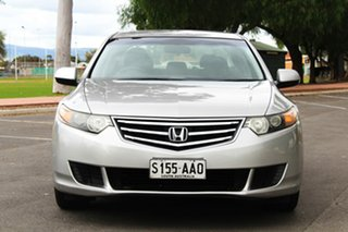 2009 Honda Accord Euro CU Silver 5 Speed Automatic Sedan.
