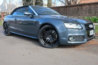 2012 Audi A5 8T MY12 3.0 TDI Quattro Grey 7 Speed Auto Direct Shift Cabriolet.