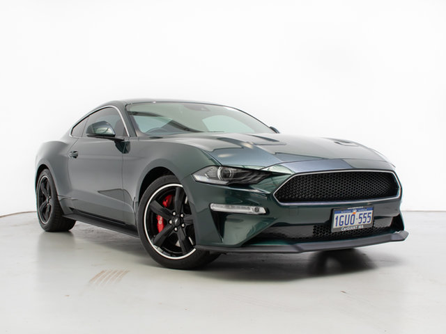 Used Ford Mustang FN Fastback Bullitt, 2018 Ford Mustang FN Fastback Bullitt Green 6 Speed Manual Coupe