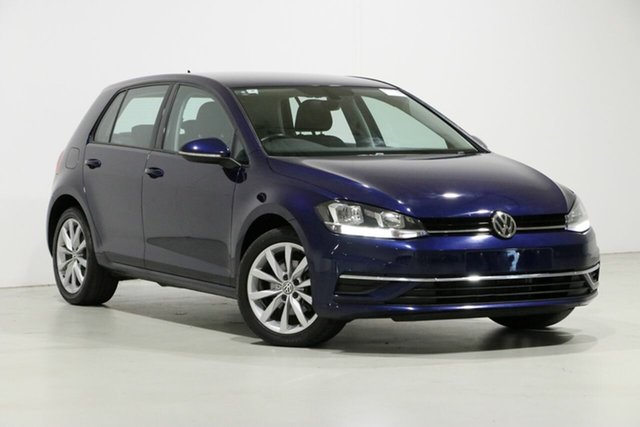 Used Volkswagen Golf AU MY18 110 TSI Comfortline, 2017 Volkswagen Golf AU MY18 110 TSI Comfortline Blue 7 Speed Auto Direct Shift Hatchback