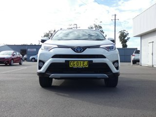 2015 Toyota RAV4 ALA49R Cruiser AWD Crystal Pearl 6 Speed Sports Automatic Wagon.