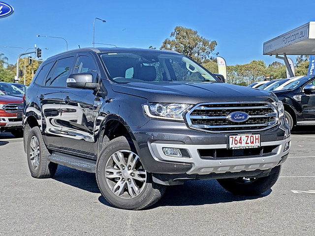 Used Ford Everest UA II 2019.75MY Trend, 2019 Ford Everest UA II 2019.75MY Trend Meteor Gre 6 Speed Automatic SUV