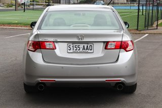2009 Honda Accord Euro CU Silver 5 Speed Automatic Sedan