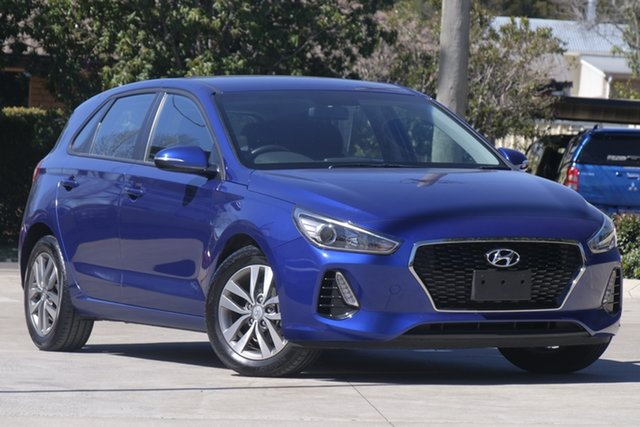 Used Hyundai i30 PD2 MY19 Active, 2019 Hyundai i30 PD2 MY19 Active Blue 6 Speed Sports Automatic Hatchback