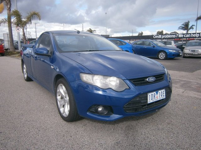 Used Ford Falcon FG XR6 Ute Super Cab Cheltenham, 2009 Ford Falcon FG XR6 Ute Super Cab Blue 4 Speed Sports Automatic Utility