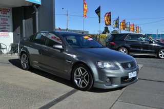 2012 Holden Commodore VE II MY12 SV6 Grey 6 Speed Manual Sedan.