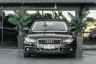 2009 Audi A4 B8 8K MY10 Multitronic Black 8 Speed Constant Variable Sedan.