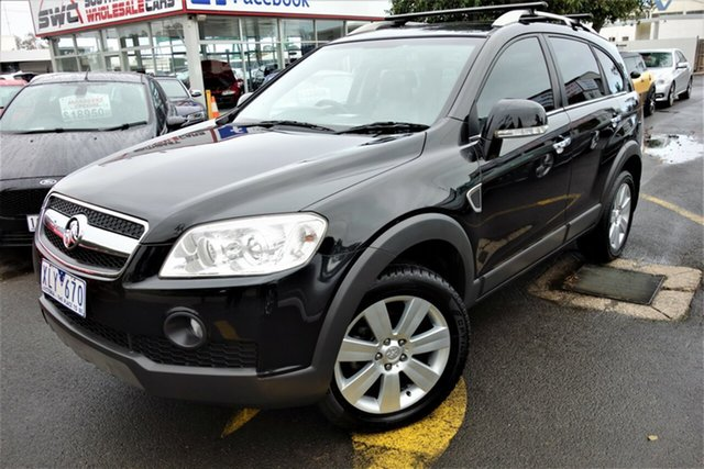 Used Holden Captiva CG MY09 LX AWD, 2009 Holden Captiva CG MY09 LX AWD Black 5 Speed Automatic Wagon